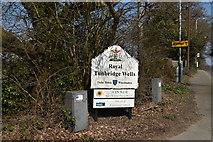 TQ5737 : Welcome to Tunbridge Wells by N Chadwick
