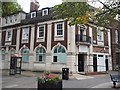 SJ8492 : Former bank on Lapwing Lane by Graham Hogg