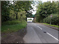 SK4927 : Rail bridge on Kegworth Road by Ian S