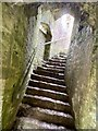 SS9874 : Castle staircase by Alan Hughes