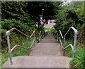 SO2508 : Steps down from Cwmavon Road, Blaenavon by Jaggery
