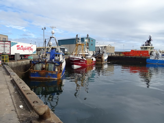 Fishing boats, Fraserburgh Harbour