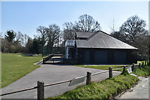 TQ5739 : Linden Park Cricket Club Pavilion by N Chadwick