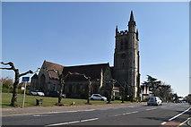 TQ5840 : Church of St John by N Chadwick