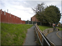 SK3030 : Footpath to Green Way, Findern by Richard Vince