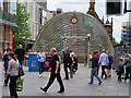 NS5865 : Glasgow, St Enoch Subway Station by David Dixon