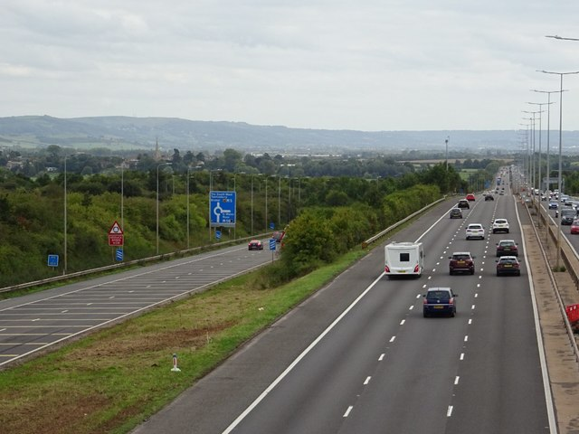 The M5 at Junction 8