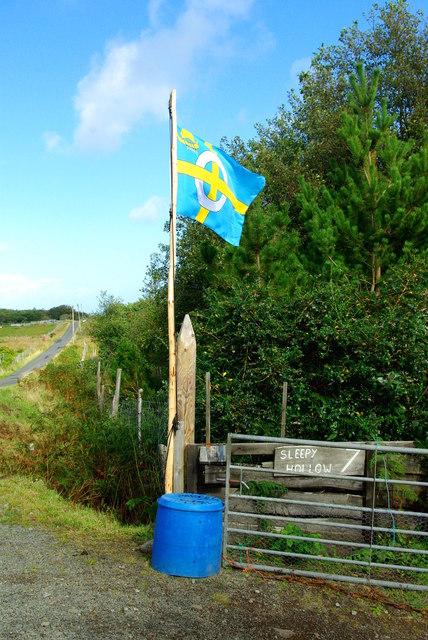 Isle of Skye flag / Bratach an Eilein