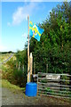NG1950 : Isle of Skye flag / Bratach an Eilein by Tiger