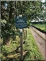 SJ9583 : Peak & Northern Footpath Sign No 368 by Philip Cornwall