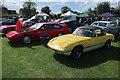 TL2870 : Car show at Hemingford Pavilion by Hugh Venables