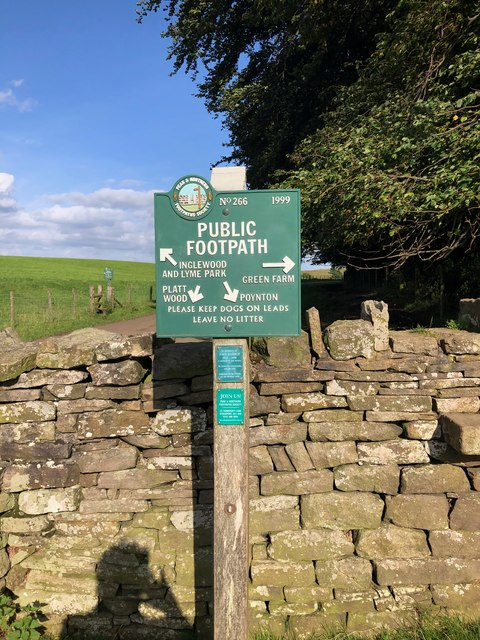 Peak & Northern Footpaths Society, Sign No 266