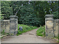 SE2431 : Southern entrance to Farnley Hall by Stephen Craven