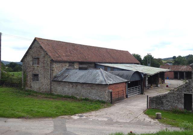 Farmyard opposite Kilpeck Church