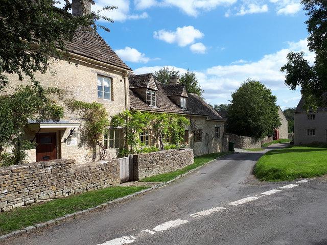 Village street, Winson
