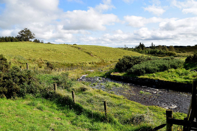 Stream coming from Lough Fingrean