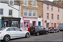 NO5603 : Shops on Shore Street, Anstruther by Mark Anderson