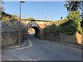 SD6929 : Railway Bridge over Willow Street by David Dixon