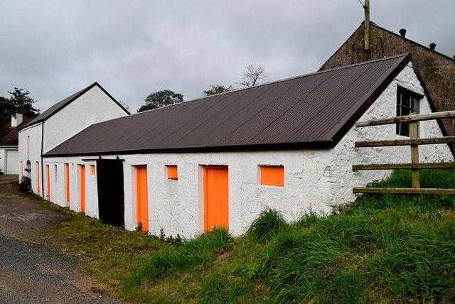 Farm buildings, Mullaslin