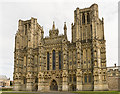 ST5545 : Cathedral Church of St Andrews, Wells by Julian P Guffogg