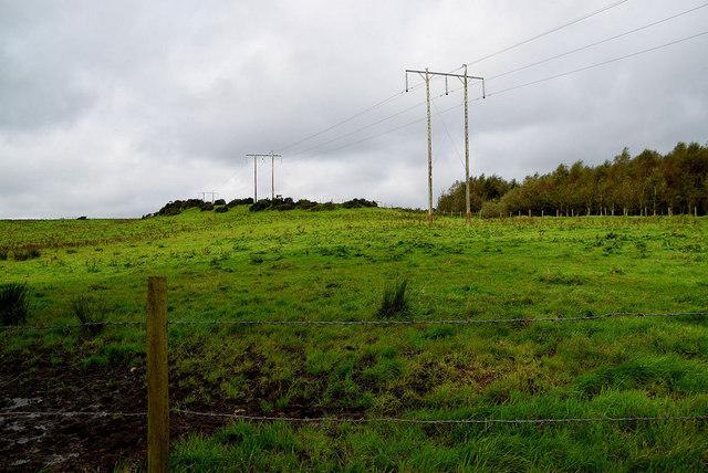 Power lines, Mullaslin