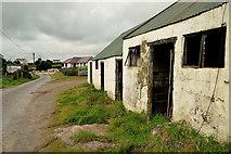 H5672 : Old farm buildings along Shinnagh Road by Kenneth  Allen