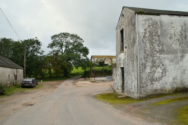 Old barn, Mullaslin