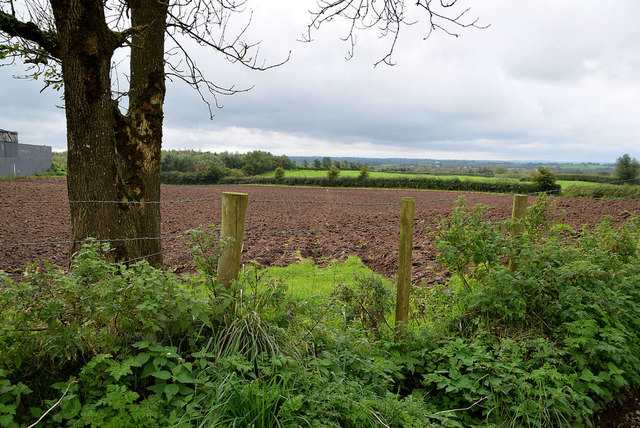 Ploughed field, Mullaslin