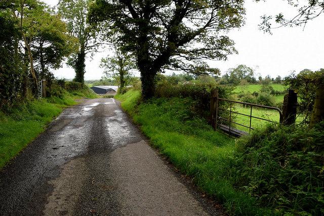 Wet along Roeglen Road