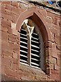 SO8779 : St James's Church (detail) in Churchill, Worcestershire by Roger  Kidd