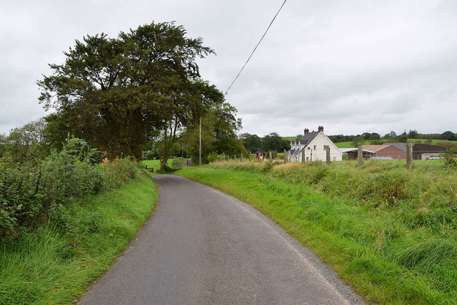 Small bend along Tullyneil Road
