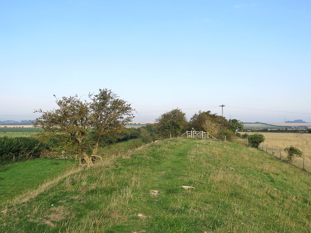 North-west on The Devil's Dyke