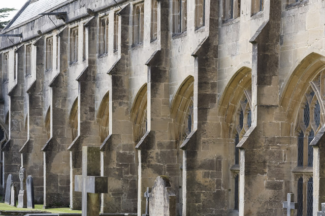 Cloister buttresses, Wells Cathedral