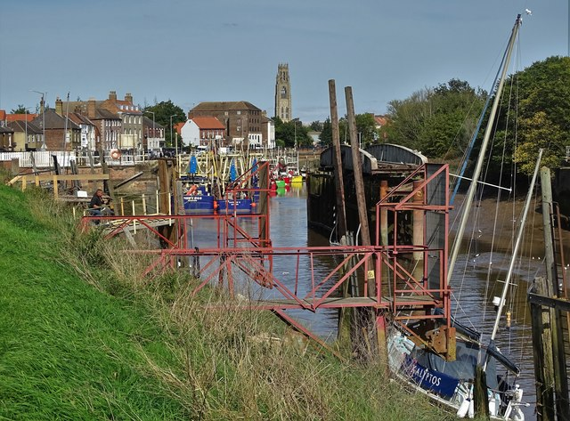View up The River Witham