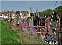 TF3242 : View up The River Witham by Neil Theasby