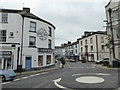 SD2878 : Looking into King Street, Ulverston by Chris Allen