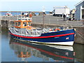 NU2604 : Puffin Cruises, Ex-R.N.L.B Beryl Tollemache, Warkworth Harbour, Amble by Geoff Holland
