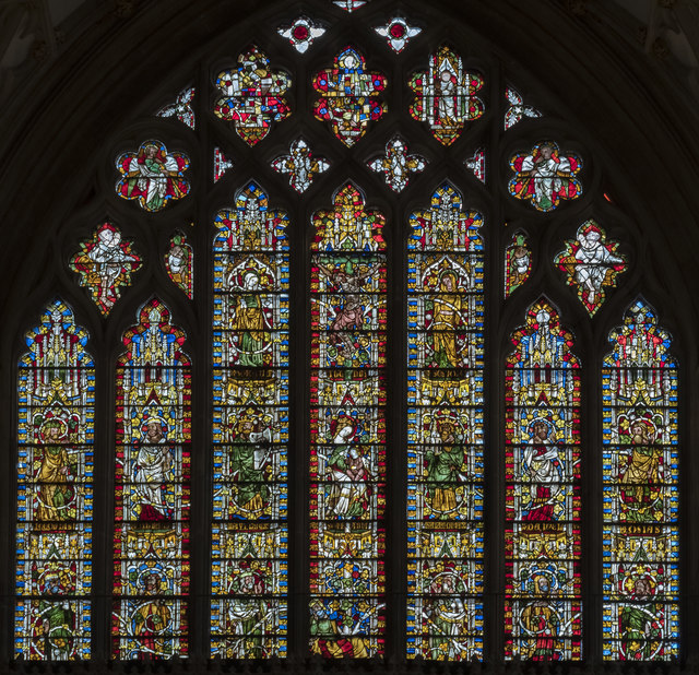 East Window, Wells Cathedral
