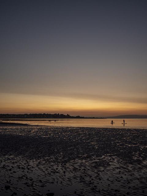 Sunset, Ballyholme Bay