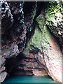 NO8884 : Inside Bowduns S cave by Nigel Feilden
