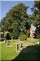 SO8341 : St Mary's church, Hanley Castle by Philip Halling