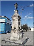 SJ6807 : Memorial to Captain Webb by Richard Law