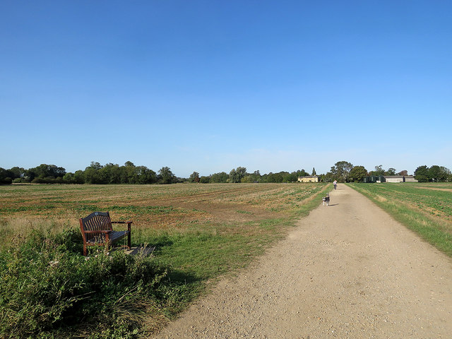 Towards Bury Farm
