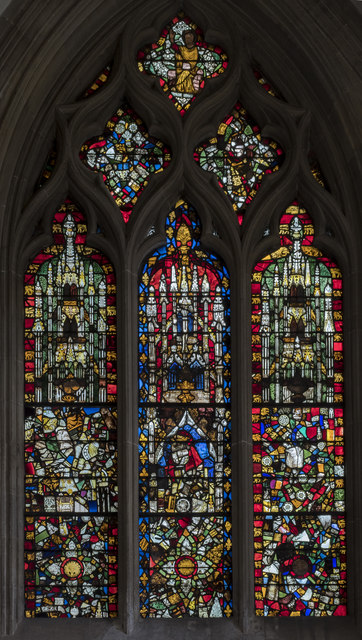 Window sIV, Wells cathedral