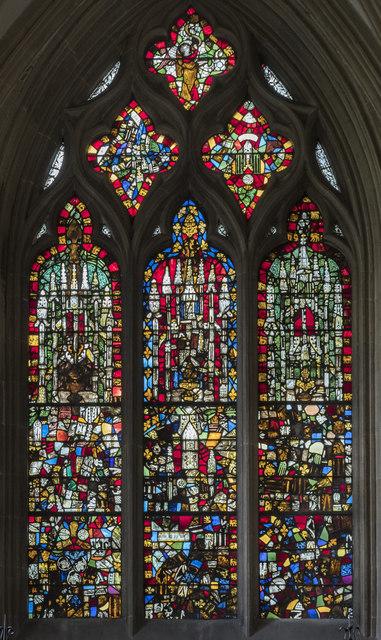 Window nIV, Wells Cathedral
