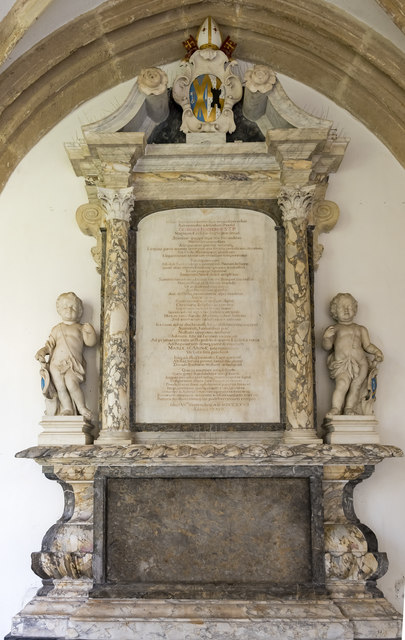 Monument to George Hooper, Wells Cathedral