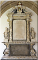 ST5545 : Monument to George Hooper, Wells Cathedral by Julian P Guffogg