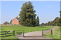 SP5324 : Entrance to Manor Farm by Des Blenkinsopp