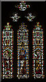 ST5545 : Window SII, Wells Cathedral by Julian P Guffogg