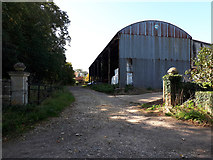 ST8986 : Entrance to Foxley Manor Farm by Vieve Forward